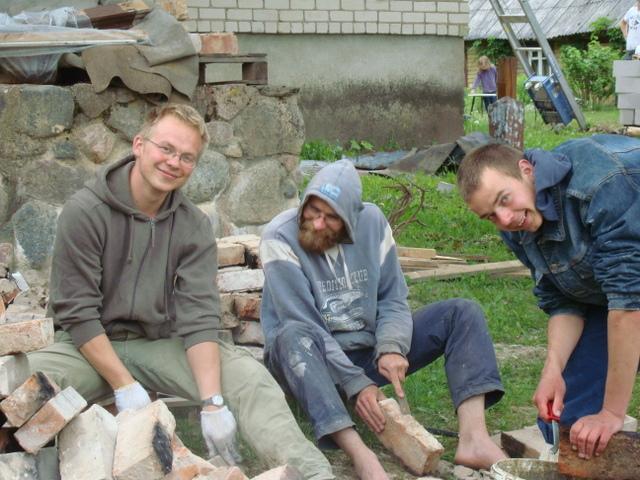 Donatas, Marius ir Antanas